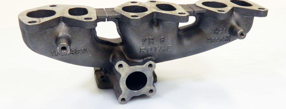 Rothe Motorsport GmbH Turbo-Gusskrümmer für die VR6 12 V-Motoren